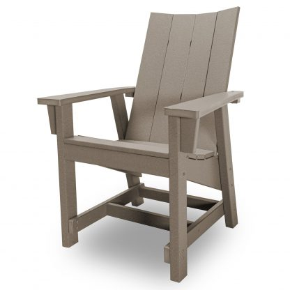 Hatteras Conversation Chair - Weatherwood - HHCV1-K-WW