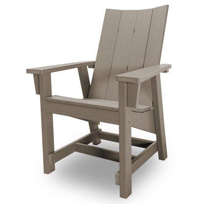 Hatteras Conversation Chair - Weatherwood - HHCV1-K-WW
