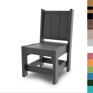 HHDC1-K - Hatteras Dining Chairs - color blocks