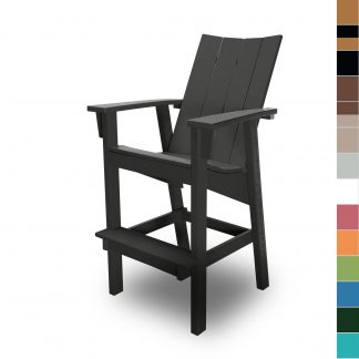Hatteras Bar Height Chair - Color Blocks - HHHDC1