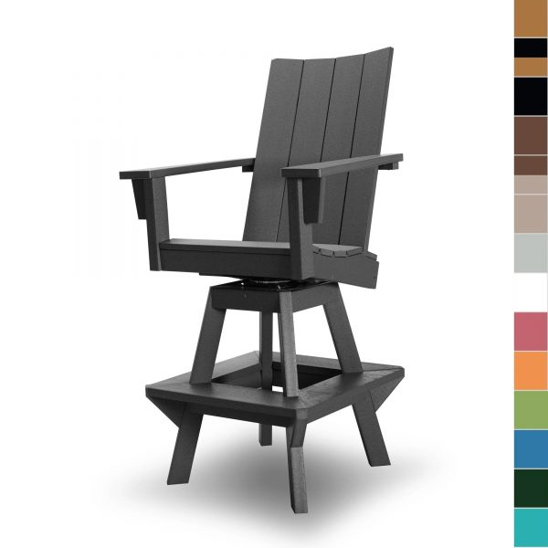 Swivel Chair - Multiple Colors - HHHDCSW1