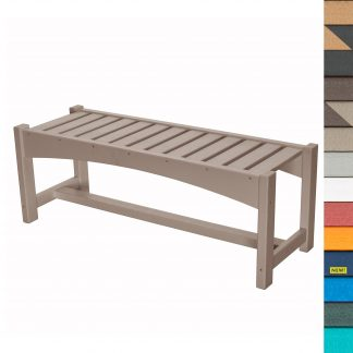 Refined Dining Bench - HHBN2 - with Navy