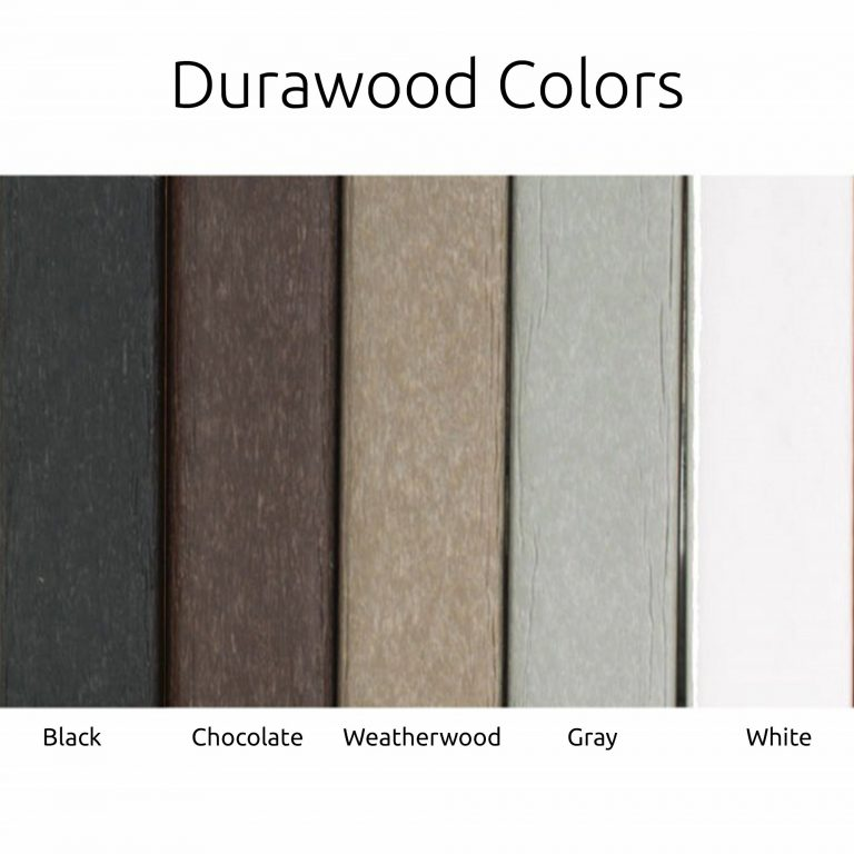 Durawood Colors - Deep Seating