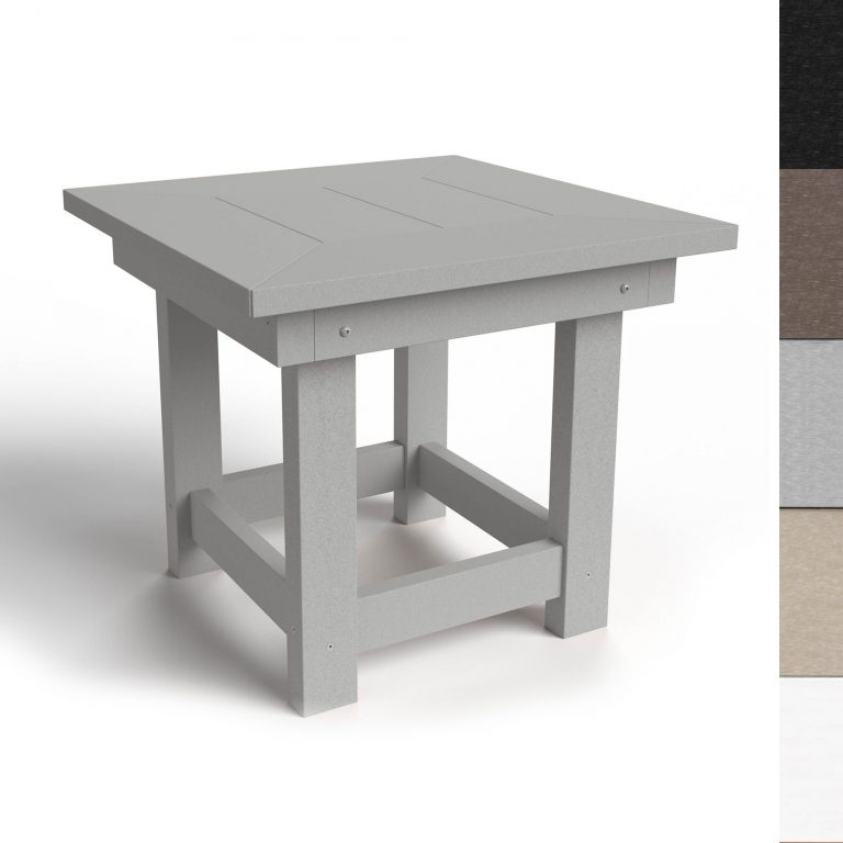 Durawood Deep Seating Side Table - DSST-K - all colors
