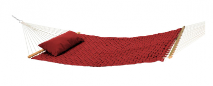 SQ-WEAVE-MJR2 Ruby Red Soft Weave 55 in. Quilted Hammock