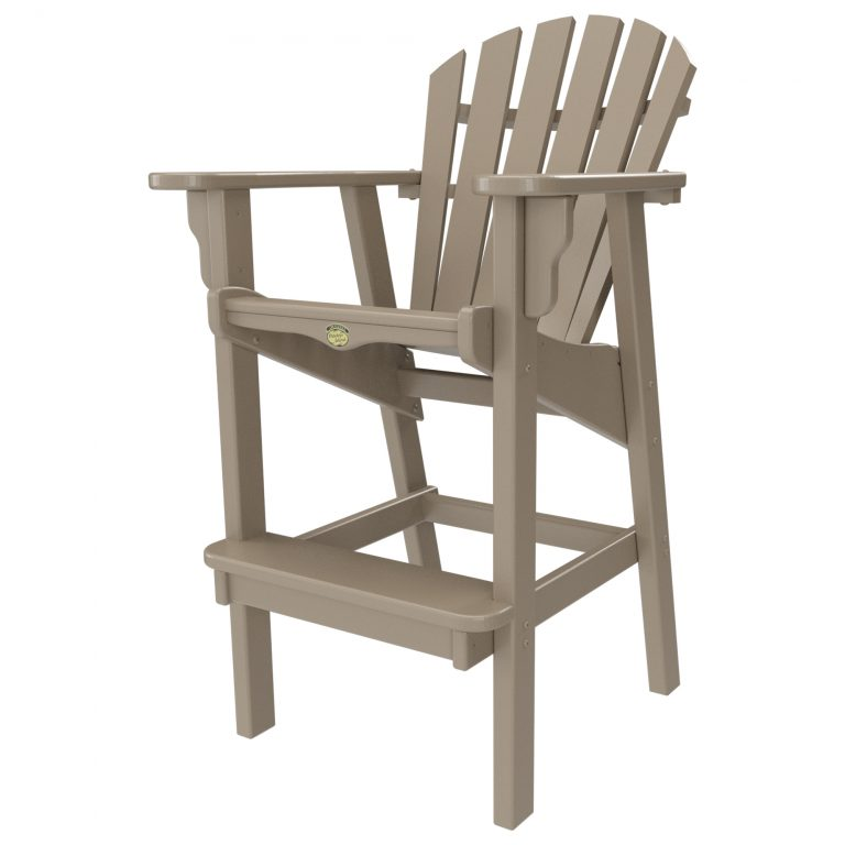 Crescent Bar Height Chair - FBHDC1-K