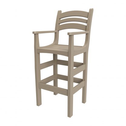 CHDCA1-K - Casual Bar Height Chair with Arms